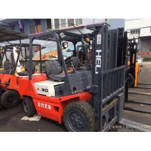 供应二手品牌叉车 二手合力内燃叉车3吨 低价批发