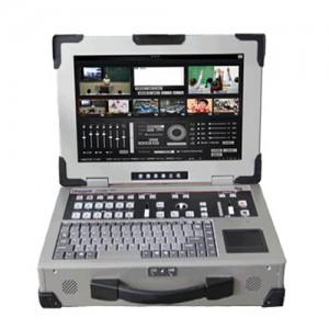 德威便携式一体机 移动录播系主机 移动演播室