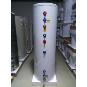 壁挂炉立式水箱(白色200L)含不锈钢盘管配27KW