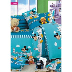 供应依汝梦童被三件套儿童床上用品三件套