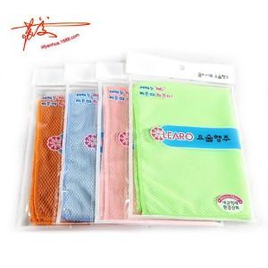 家务清洁用品 玻璃清洁鱼鳞布 不掉毛的百洁布30*40cm
