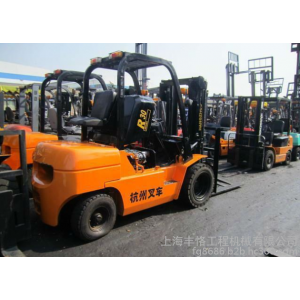 供应内燃式搬运叉车设备二手内燃柴油叉车杭州3吨二手叉车