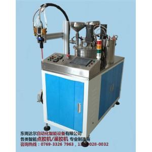 防水电源聚氨脂灌胶机采购 防水电源六轴双平台翻转点胶机DR-960供应商