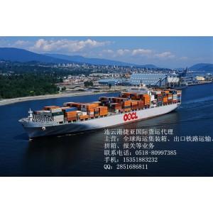 连云港海运进口清关货代