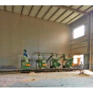 生物质颗粒机工业园|山东微山木屑颗粒机厂家