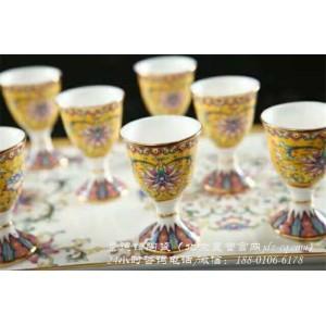 北京景德镇陶瓷酒具批发价格 北京景德镇陶瓷酒具定制厂家