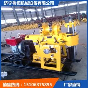 济宁地质勘探钻机 鲁恒优质XY-1A高速岩心钻机