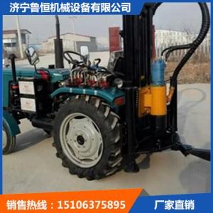 拖拉机式气动打井机 TQZ100拖拉机式打井机