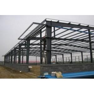 钢结构建筑厂房 建筑钢结构