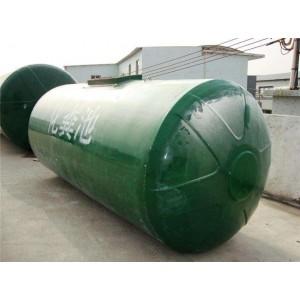 圆筒形玻璃钢化粪池生产厂家 圆筒形玻璃钢化粪池供应商