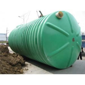 圆筒形玻璃钢化粪池生产厂家 波纹玻璃钢化粪池供应商