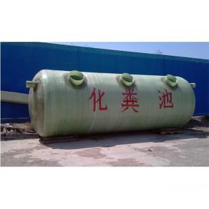 波纹玻璃钢化粪池供应商 圆筒形玻璃钢化粪池生产厂家