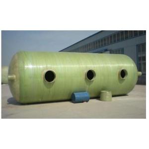 圆筒形玻璃钢化粪池供应商 圆筒形玻璃钢化粪池生产厂家