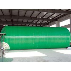 圆筒形玻璃钢化粪池厂家直销 圆筒形玻璃钢化粪池供应商