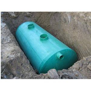 圆筒形玻璃钢化粪池供应商 圆筒形玻璃钢化粪池厂家直销
