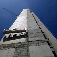 孝感市新城越隽一号楼施工案例