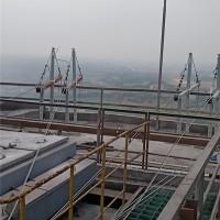 应城新都化工三个高塔120米施工案例