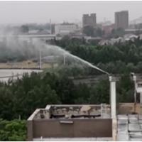 屋顶射雾除霾