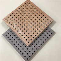 陶铝冲孔吸音板